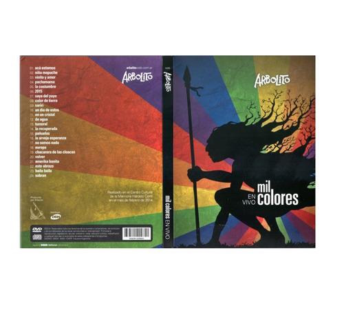 Arbolito - Mil Colores En Vivo (cd+dvd) - D
