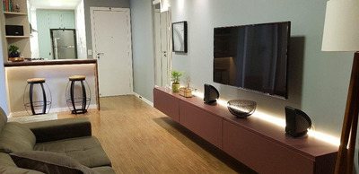 Apartamento Em Santa Lúcia, Vitória/es De 60m² 2 Quartos À Venda Por R$ 455.000,00 - Ap206802