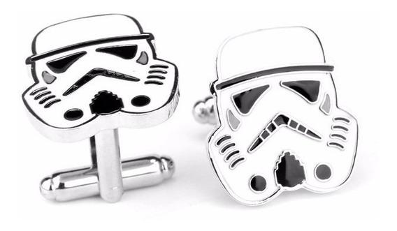 Abotoadura Star Wars Soldados Stormtroopers
