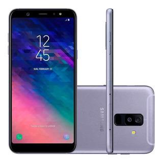 Smartphone Samsung Galaxy A6+ Prata-dual Chip,tela Infinita