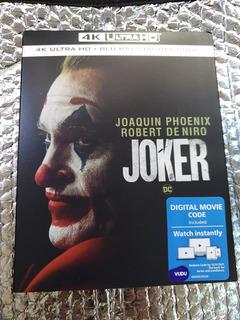 Joker 4k Uhd + Bluray