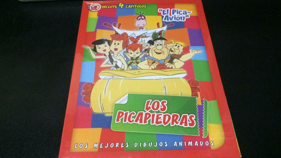 Los Picapiedras Dibujos Animados 4 Capitulos Dvd Nuevo