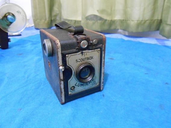 Antiga Maquina Fotografica Lumiere Box Mod 4