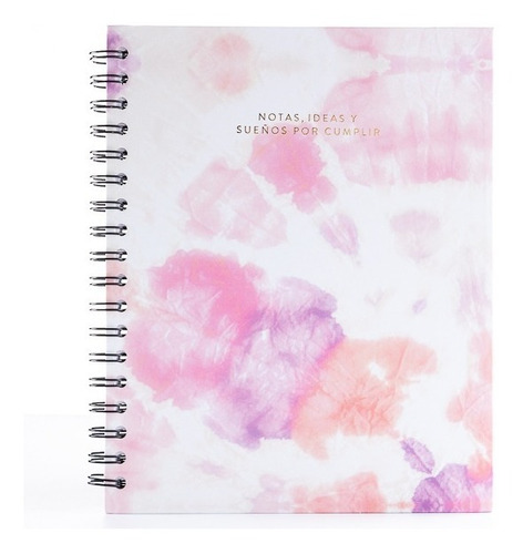 Cuaderno Punteado Tipo Bullet Journal Papelí - Tie Dye