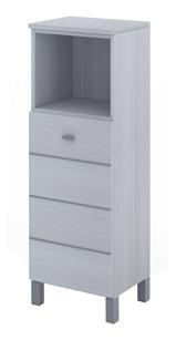 Armario Schneider Con Repisa Terra Matrix Blanco 40cm