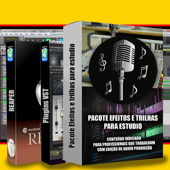 Ultra Pack De Trilhas E Efeitos Sonoros + Vst + Brinde