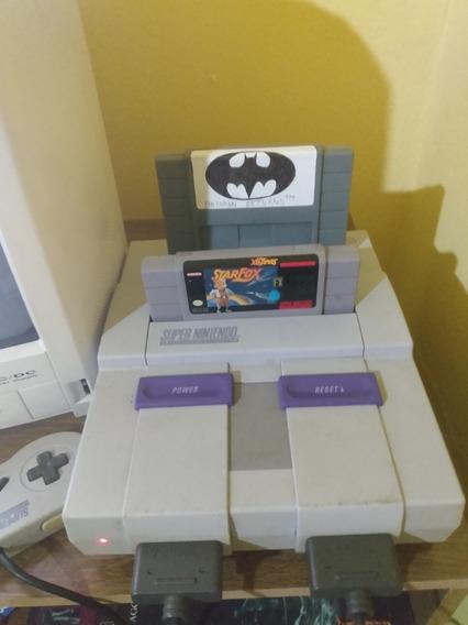Super Nintendo + Starfox