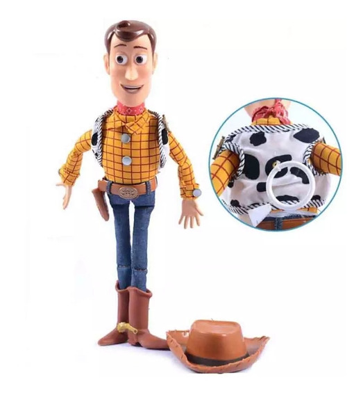 Xerife Woody Disney Toy Story (novo Sem Caixa)