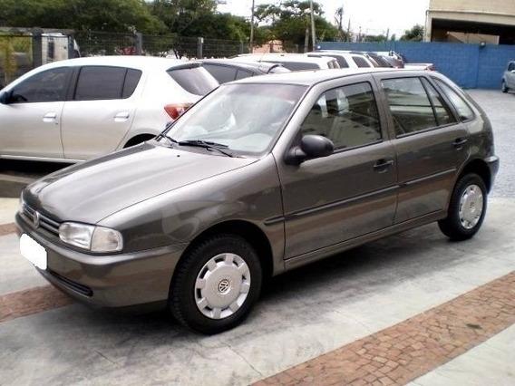 Volkswagen Gol Cl 1.6 Mi Cinza Gasolina 4p Manual 1999