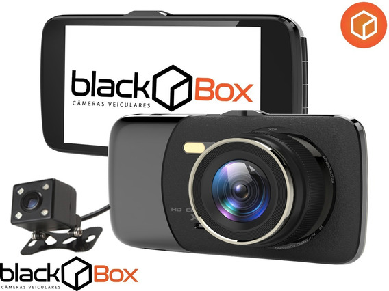 Câmera Veicular Black Box Gpx Dual - Ultra Night Vision