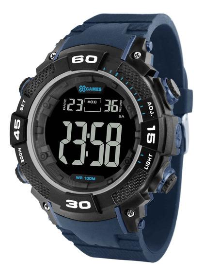 Relógio X Games Masculino Xmppd563 Pxdx Azul - Refinado