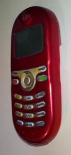 Celular Motorola C200 - Dualbanda - Vermelho - Operadora Tim