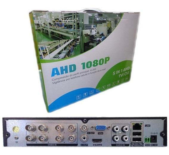 Dvr Ahd 8 Canais 5 Em 1 H.264 1080p Usb Hdmi