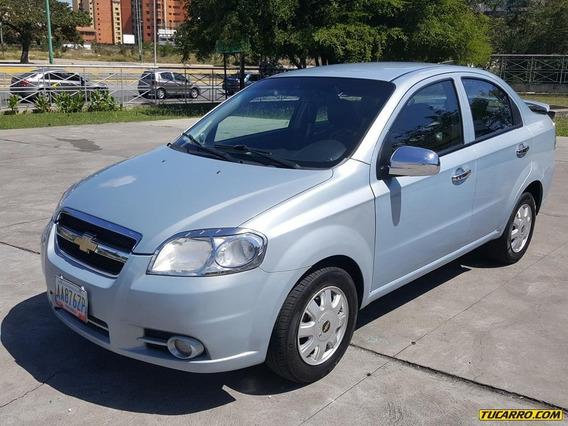 Chevrolet Aveo Lt Sincronico