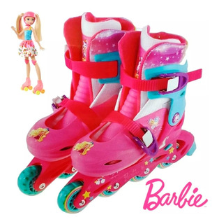 Rollers Patines Extensibles Barbie Minnie Pony Unibike