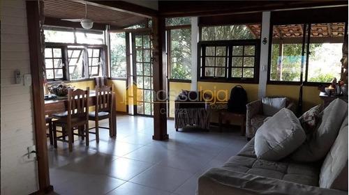 Casa Residencial Dentro De Condomínio À Venda, Sape, Niterói. - Ca0870