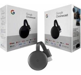 Google Chromecast 3ra Generación Full Hd Con Holograma 45v