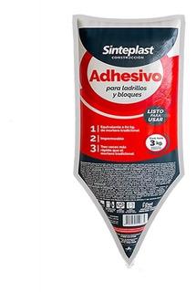 Adhesivo Para Ladrillos Y Bloques 3 Kg Sinteplast Caja X6 Un