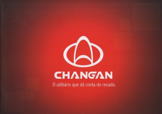 Folder Catálogo Folheto Changan Mini Star / Star (cg003)