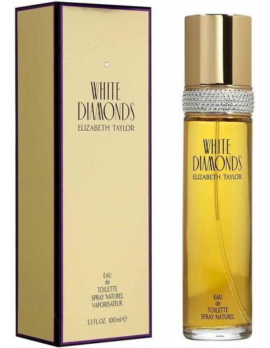 Perfume White Diamonds Dama 100 Ml Elizabeth Taylor Edt