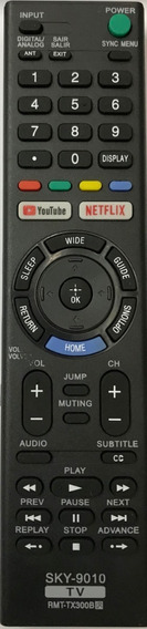 Controle Tv Sony Smart Rmt-tx300b