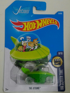 Hot Wheels Nave Dos Jetsons Hw Screen Time Mattel 2017
