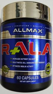 Ácido Alfa Lipóico R+ (ala R+ Allmax) - 60 Caps 150mg Cada