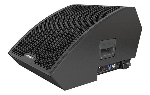 Caixa De Som Amplificada Monitor Attack Vertcon M112d