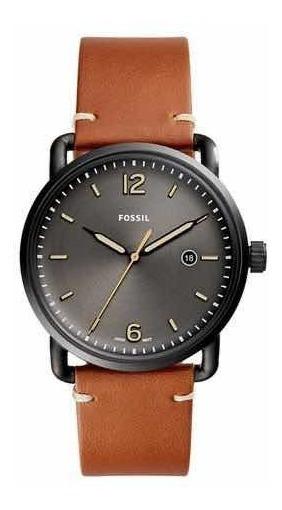 Relógio Masculino Fóssil Commuter Fs5276/2pn Pulseira Marrom