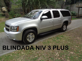 Suburban G 8 4x4 Blindada Nivel 3 Plus Wba 2011 (impecable)