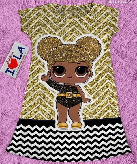 Vestido Infantil Queen Bee