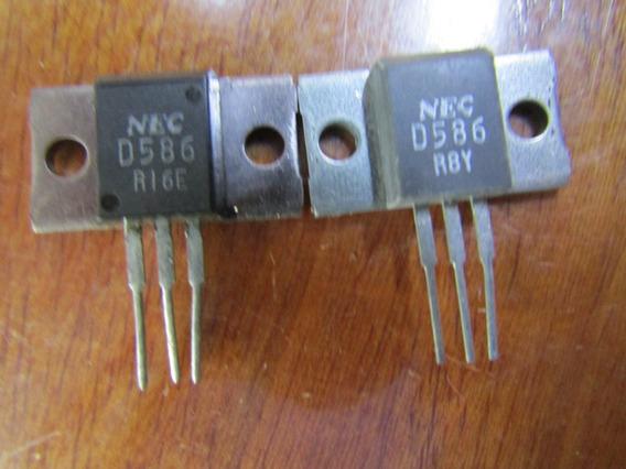 1 Par Transistor Nec Mt-100 2sb616a / 2sd586a B616a / D586a