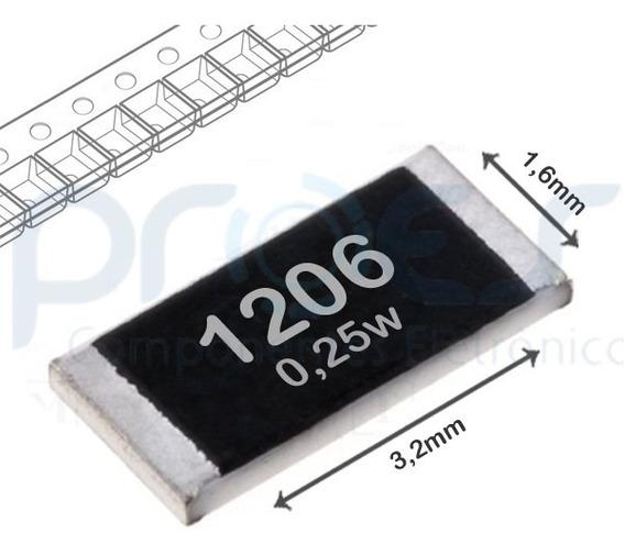 Resistor 300r 1206 1/4w Royalohm ( 100 Pçs )