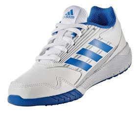 Tenis adidas Altarun K Niño Niña Escolar Running Blanco