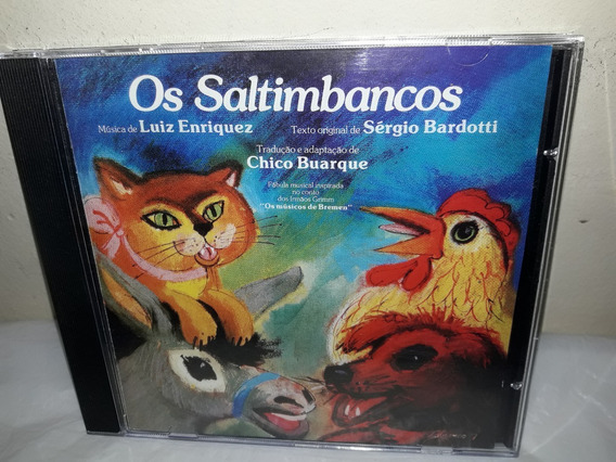 Cd Trilha Do Filme Os Saltibancos Chico Buarque 1977