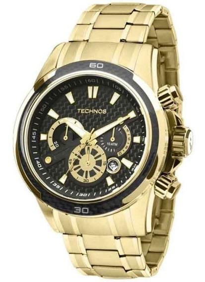 Relógio Technos Masculino Ts_carbon Js26aa/4p