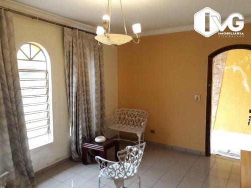Imagem 1 de 25 de Casa Com 3 Dormitórios À Venda, 224 M² Por R$ 650.000,00 - Jardim Aliança - Guarulhos/sp - Ca1643