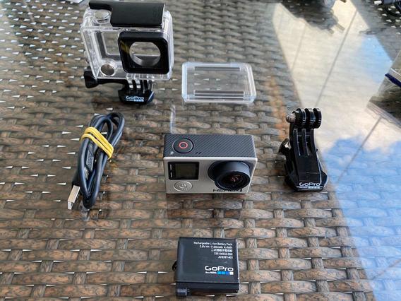 Câmera Go Pro Hero Black Edition 4 + Bateria Extra