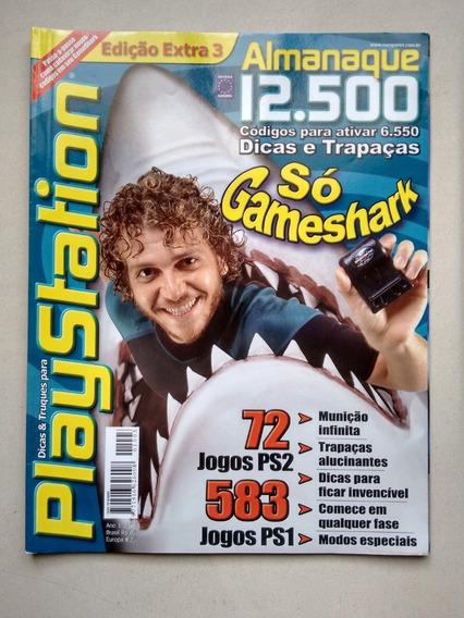 Revista Playstation 3 Almanaque 12500 Ps2 Ps1 Gameshark D571