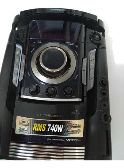 Placa Frontal Mini System Lg Mct704
