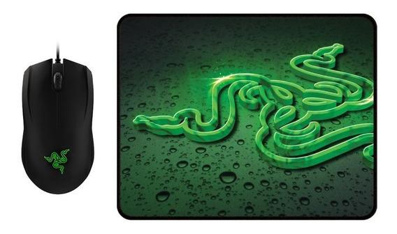Mouse Razer Abyssus 2000 + Goliathus Speed Terra (pequeno)