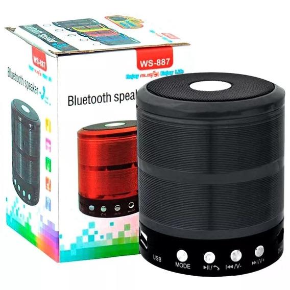 Mini Caixa Caixinha De Som Bluetooth Portatil
