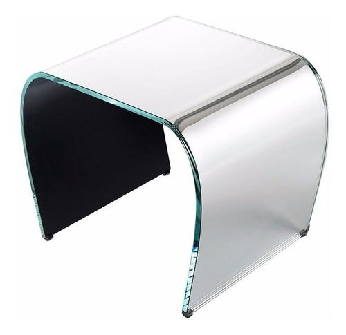 Mesa Ratona Vidrio Churba Mies Bauhaus Diseño Naoto Fukasawa