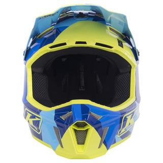 Casco Klim F3 Ece / Dot Xl Blue Camo