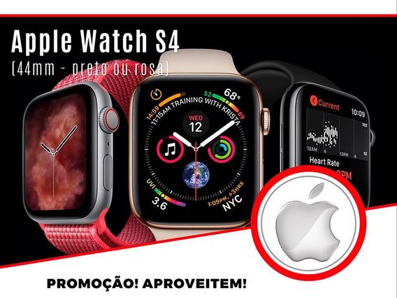 Relogio Apple Watch S4 44mm (preto Ou Rosa) Lacrado/garantia