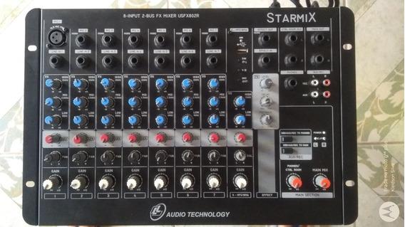 Mesa De Áudio Starmix Usfx802r