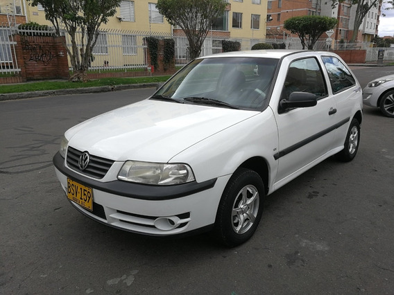 Volkswagen Gol Coupe Mt1000cc Blanco Aa Dh