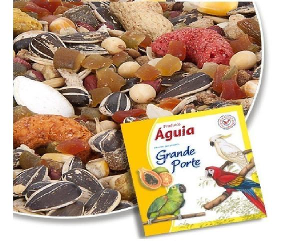 Ração Mistura Para Papagaio Com Frutas 10kg