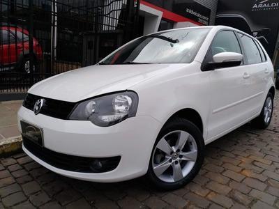 Volkswagen Polo Hatch 1.6 Mi 2014 Branco Flex