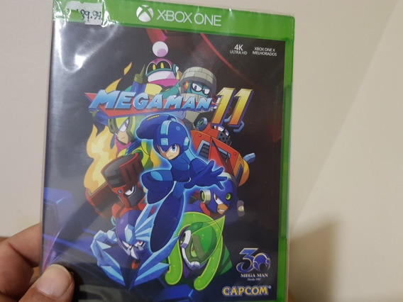 Megaman 11 Lacrado Xbox One Mídia Física